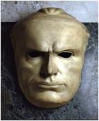 maschera mussolini